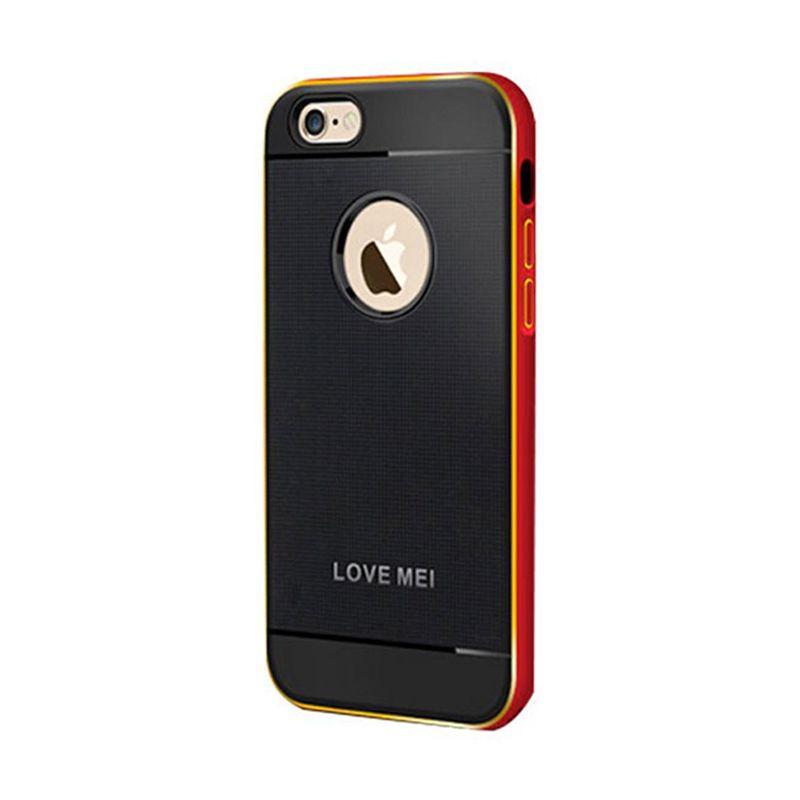 Love Mei Double Colour Aegis meirah Casing for iPhone 6 Plus