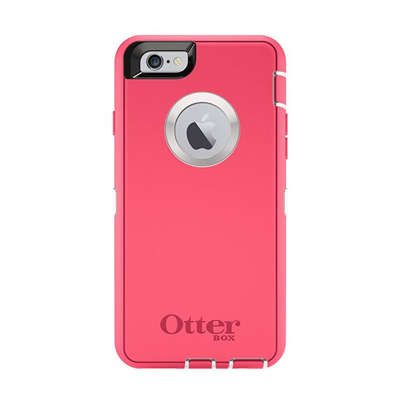 OtterBox Defender Series Neon Rose Casing for iPhone 6