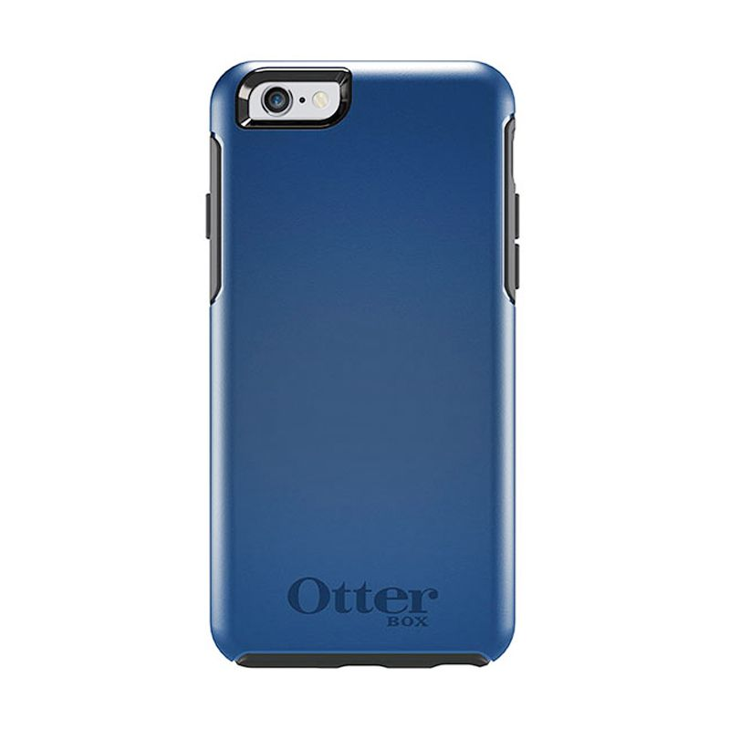 OtterBox Symmetry Series Casing Blue Print For iPhone 6