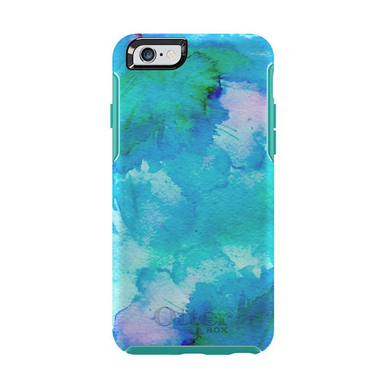 OtterBox Symmetry Series Casing Floral Pond For iPhone 6