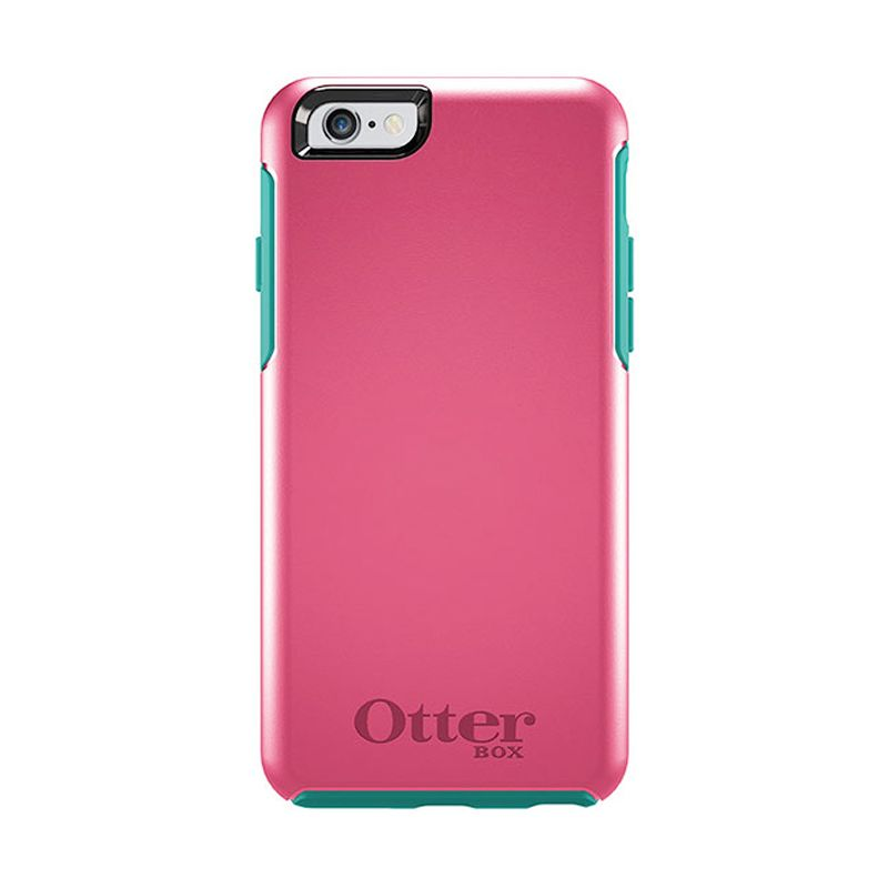 OtterBox Symmetry Series Casing Teal Rose For iPhone 6