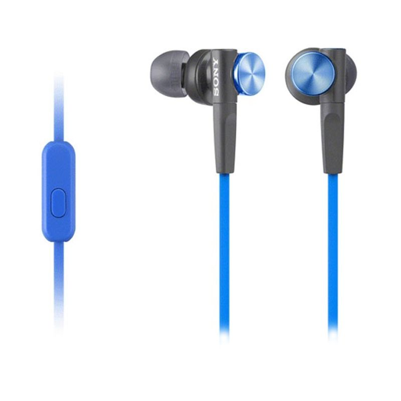 Sony Earbud MDR-XB50 Blue Headset