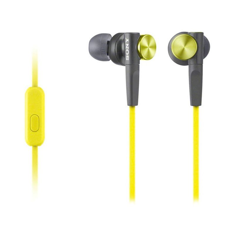 SONY Earbud MDR-XB50 Yellow Headset