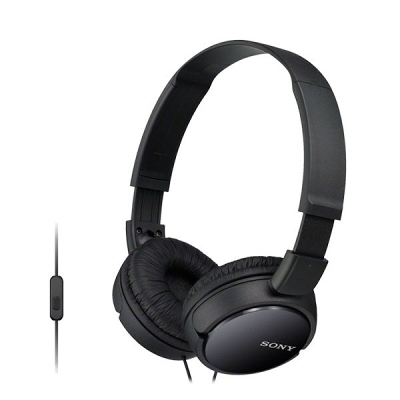 Sony MDR-ZX110AP Black Stereo Headset