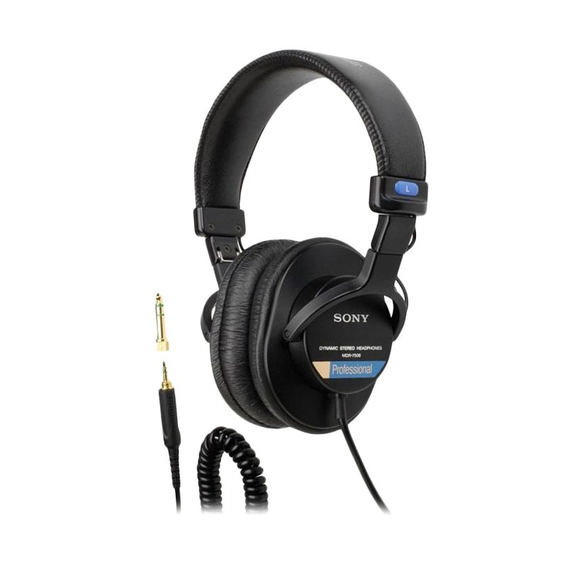 Sony Professional MDR7506 Black Headphone