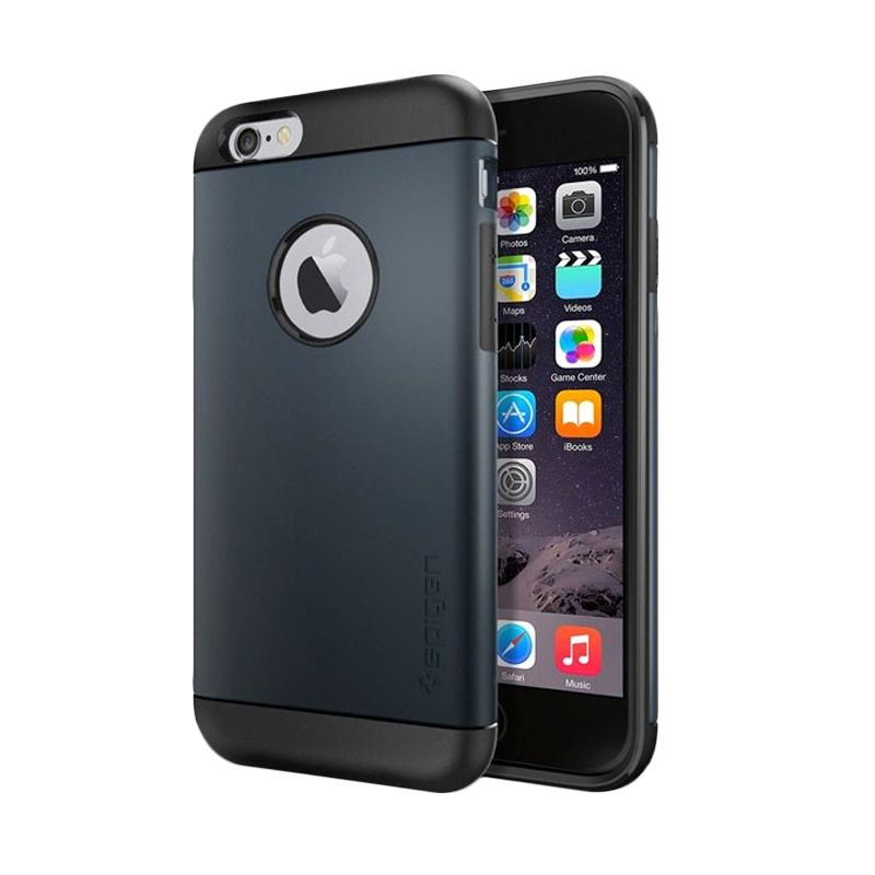 Spigen Slim Armor Series Metal Slate Casing for iPhone 6 Plus