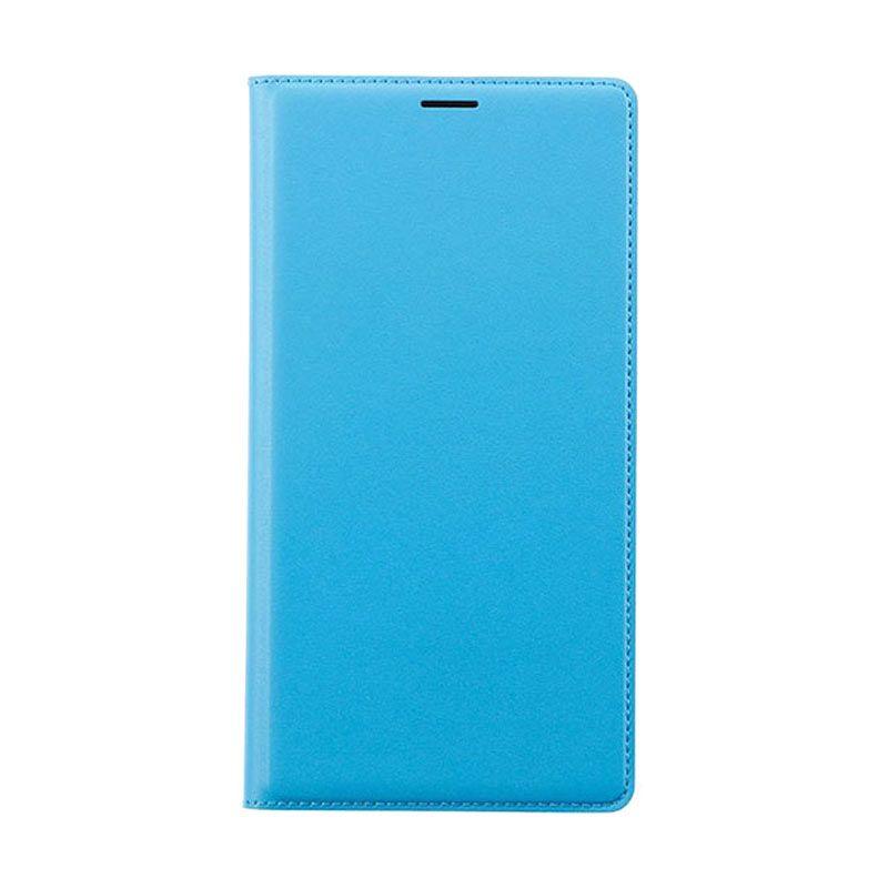 Xiaomi Flip Wallet Redmi Note Biru Casing