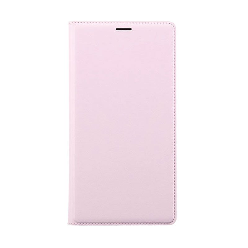 Xiaomi Flip Wallet Redmi Note Pink Casing