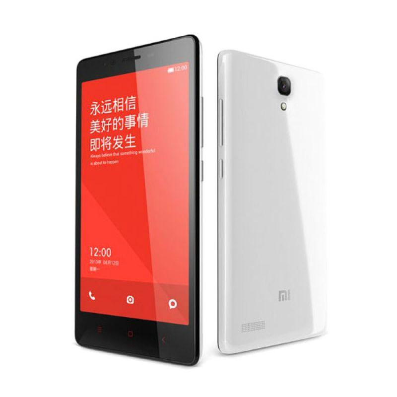 Xiaomi RedMi Note 4G LTE Putih Smartphone