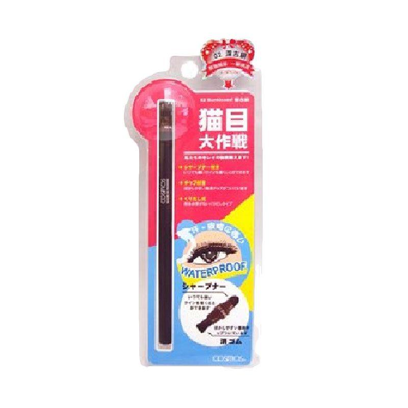 Cosmos Waterproof Sunkissed Coklat Muda Eyeliner