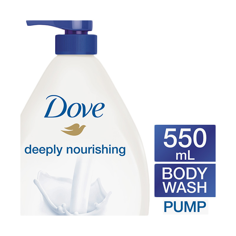Dove Deeply Nourishing Body Wash Pump 550ml