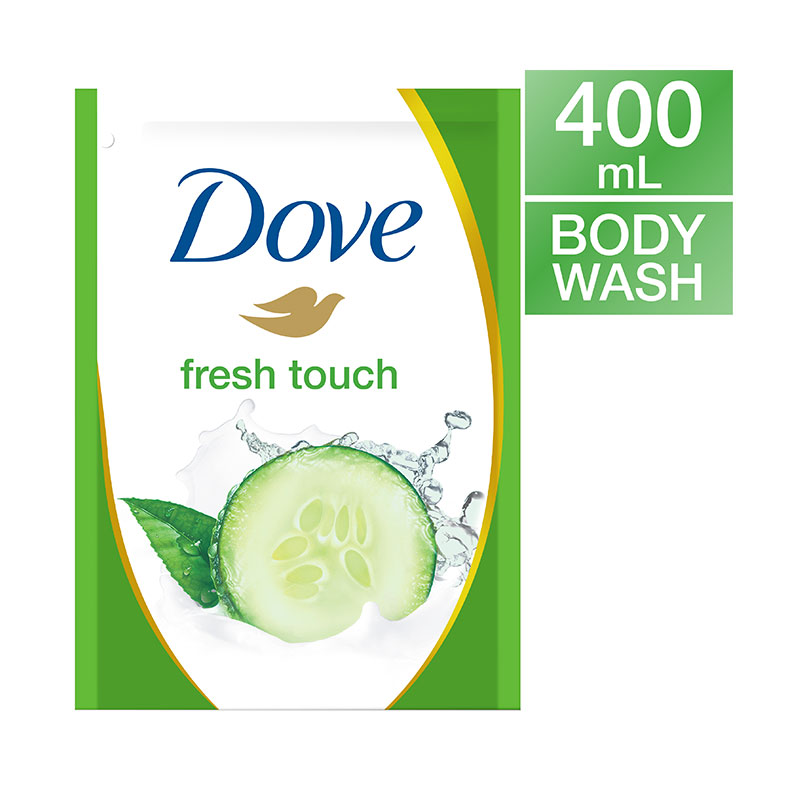 Dove Go Fresh Fresh Touch Body Wash Refill 400ml