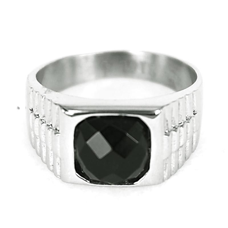 Dparis Cushion Silver Black Cincin