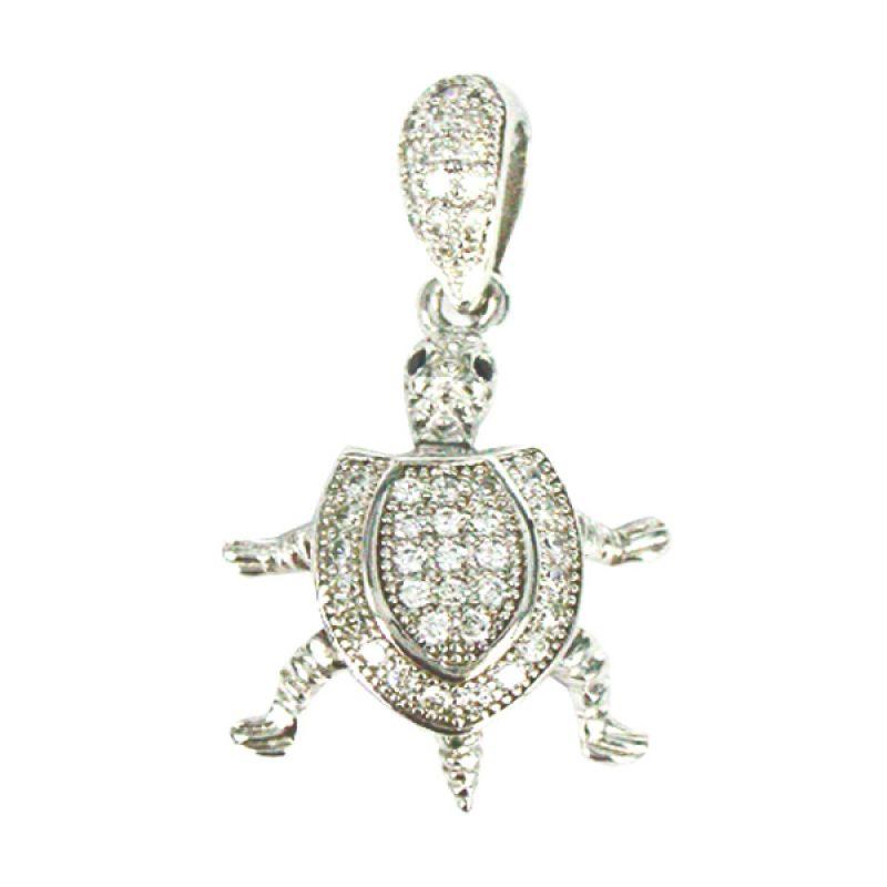 Dparis Liontin Lapis Turtle 2,4 gr