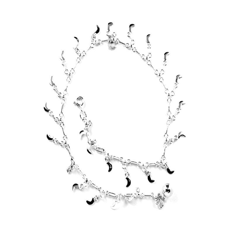 Dparis Moon Ankle Bracelet