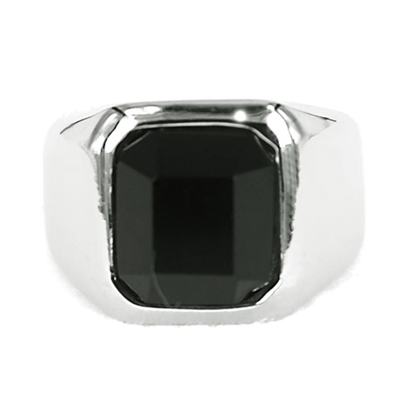 Dparis Radiant Silver Black Cincin