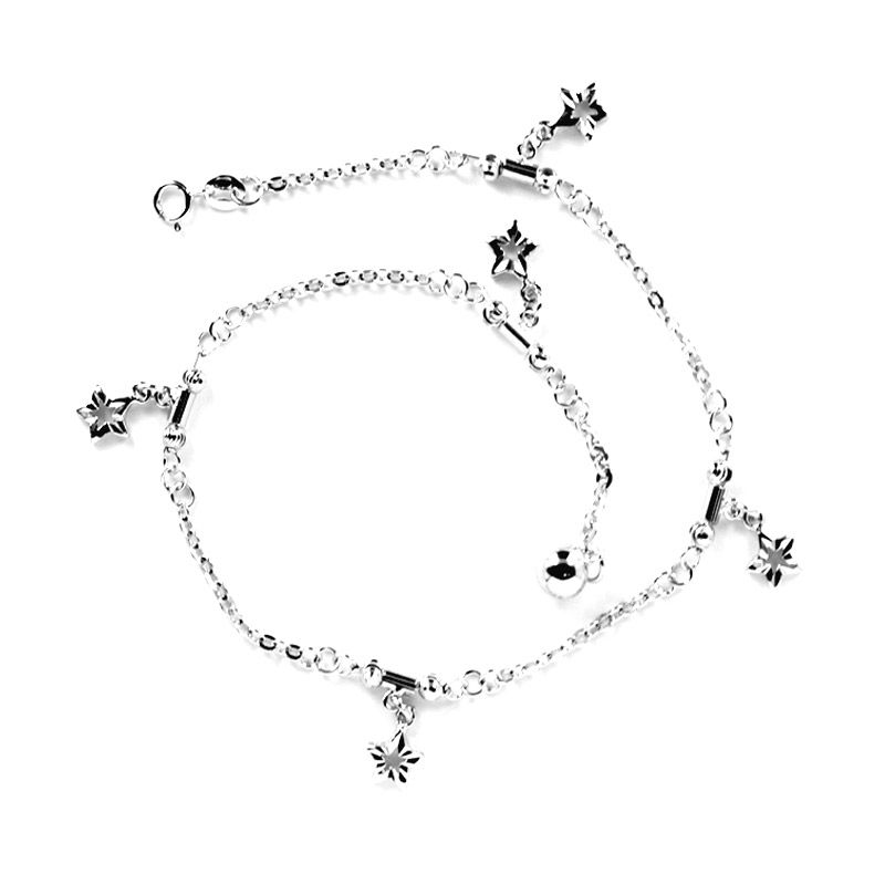 Dparis Star Hole Ankle Bracelet