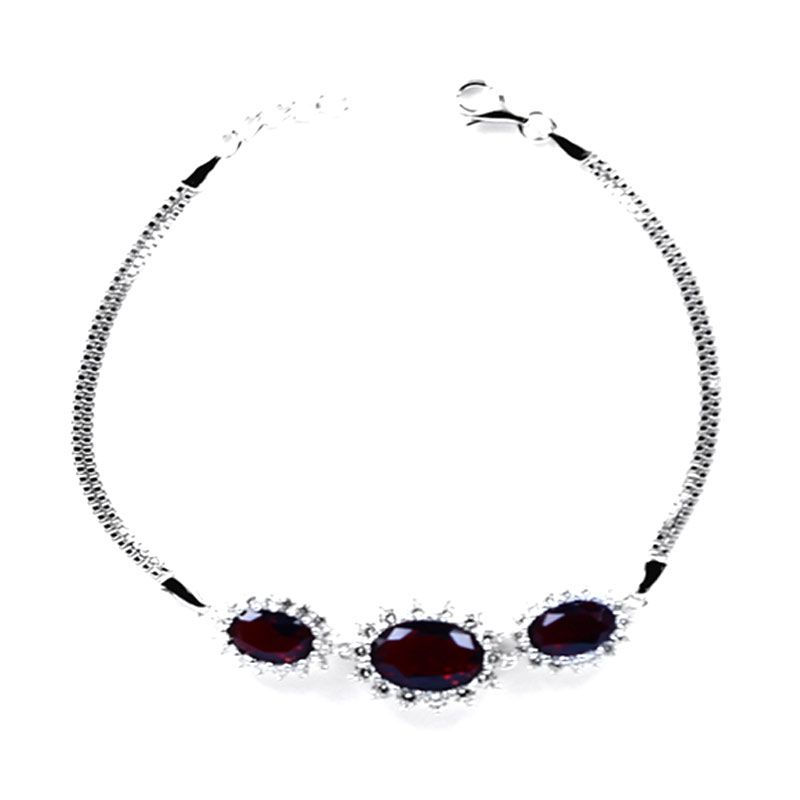 Dparis Studded Eye Marron Bracelet