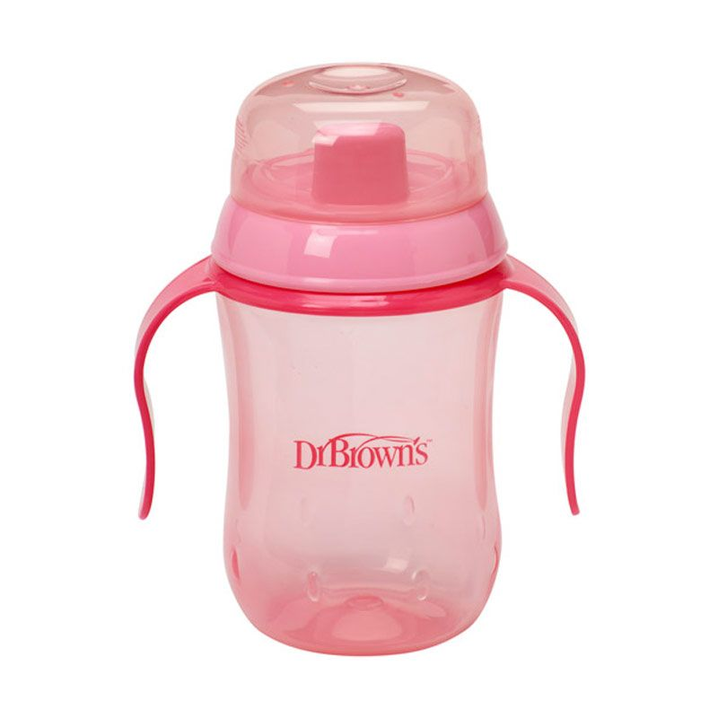 Dr. Brown's Training Cup Hard Spout Pink
