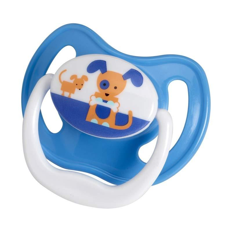 Dr. Brown's PreVent Pacifier Stage 1 Blue Dog