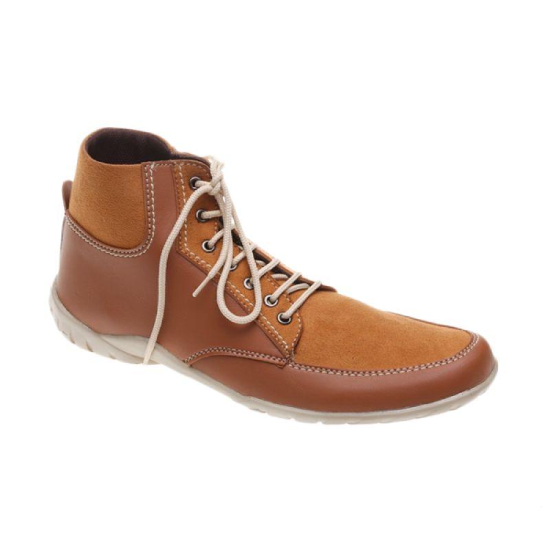 Dr Kevin Denim 1030 Tan Sepatu Boot