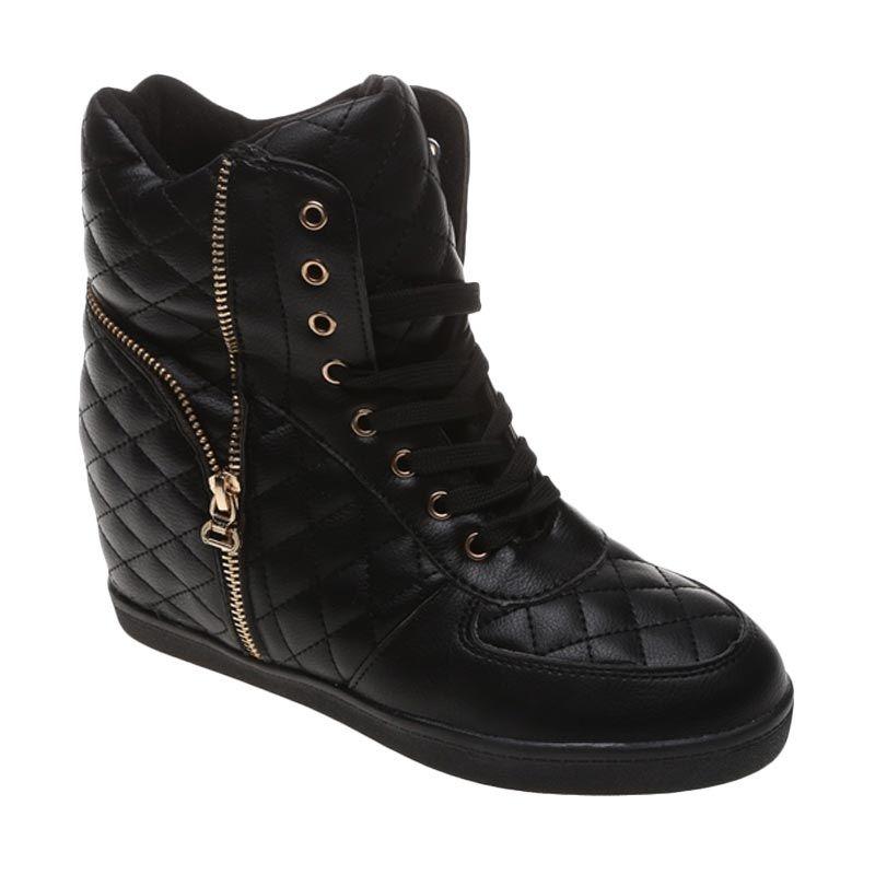 Dr Kevin Leather 6005 Hitam Sepatu Boot