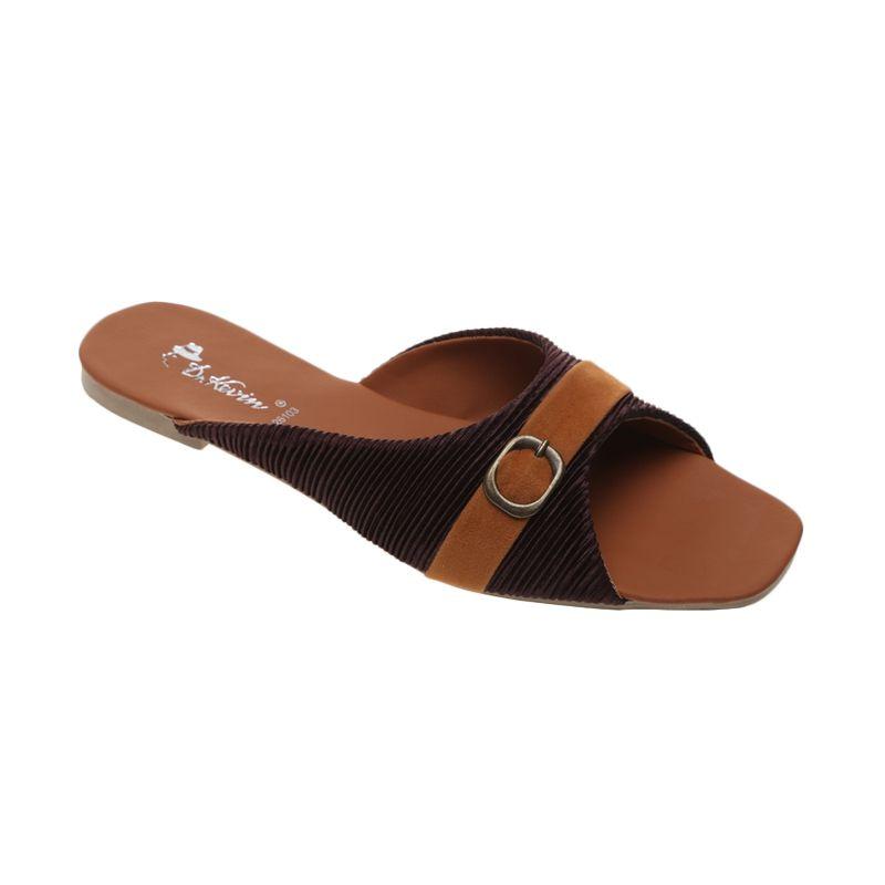 Dr Kevin Satin 26103 Loafers Coklat Sandal