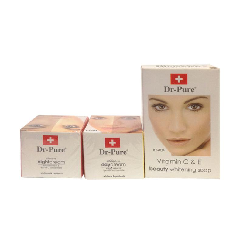 Dr.Pure Cream Paket Pemutih Wajah