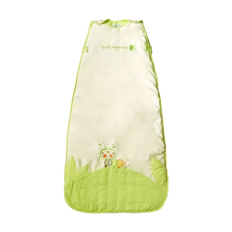Dream Bag Caterpillar 2.5 Tog Ukuran 6-18 bulan Cream Green Sleeping Bag Bayi