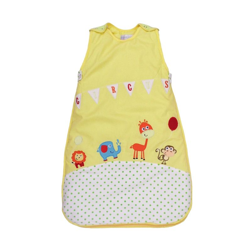 Dream Bag Circus 2.5 Tog Ukuran 0-6 bulan Yellow Sleeping Bag Bayi