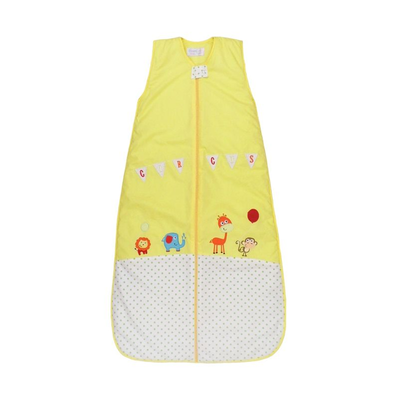 Dream Bag Circus 2.5 Tog Ukuran 6-18 bulan Yellow Sleeping Bag Bayi