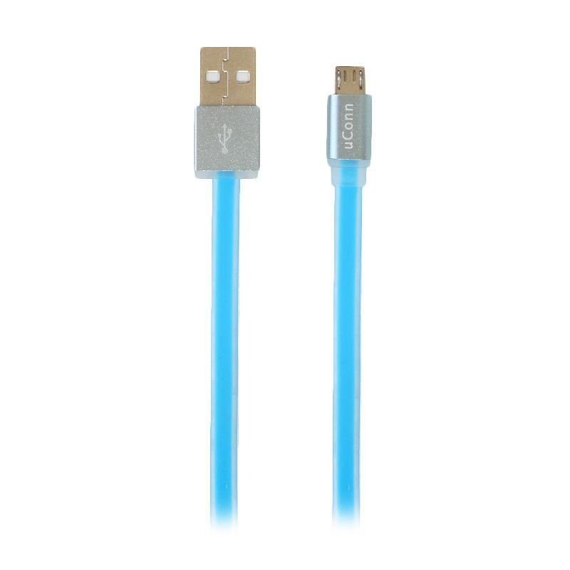 uConn Micro Biru USB Data Cable [100 cm]
