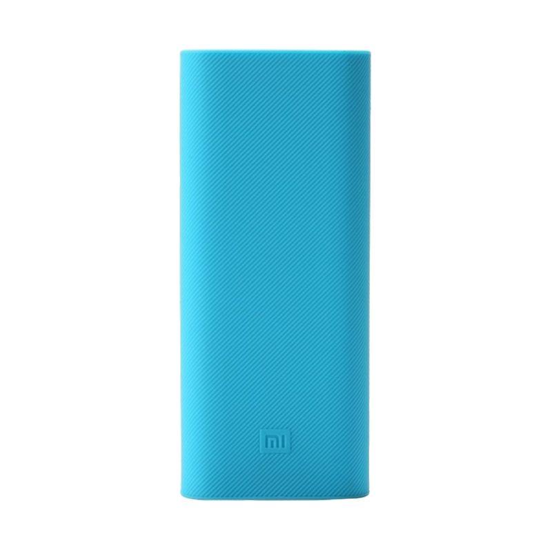 Xiaomi Blue Silicon Casing for Mi Powerbank [16000 mAh]