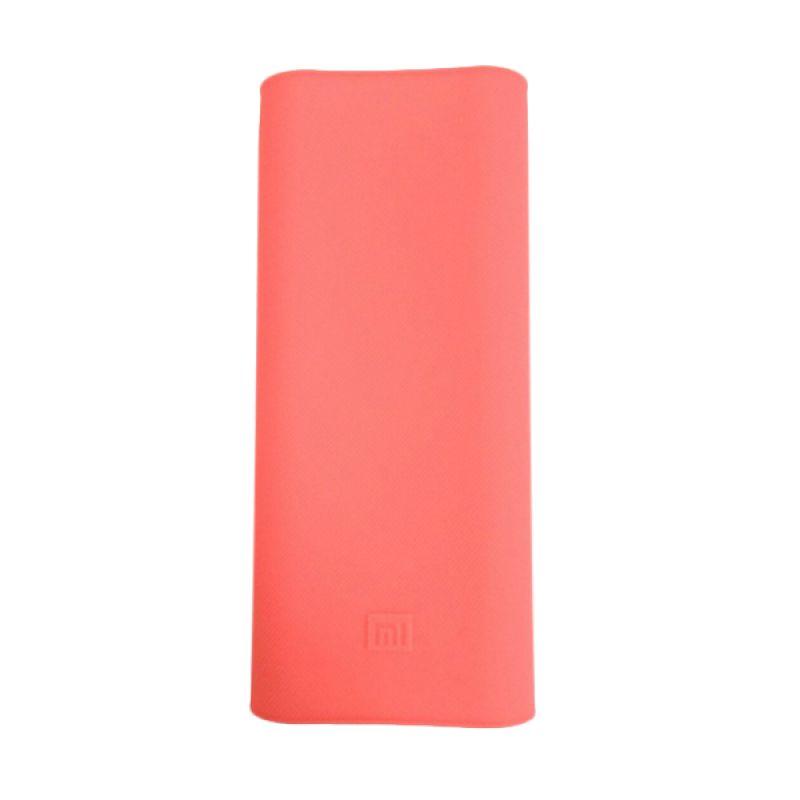 Xiaomi Pink Silicon Casing for Mi Powerbank [16000 mAh]