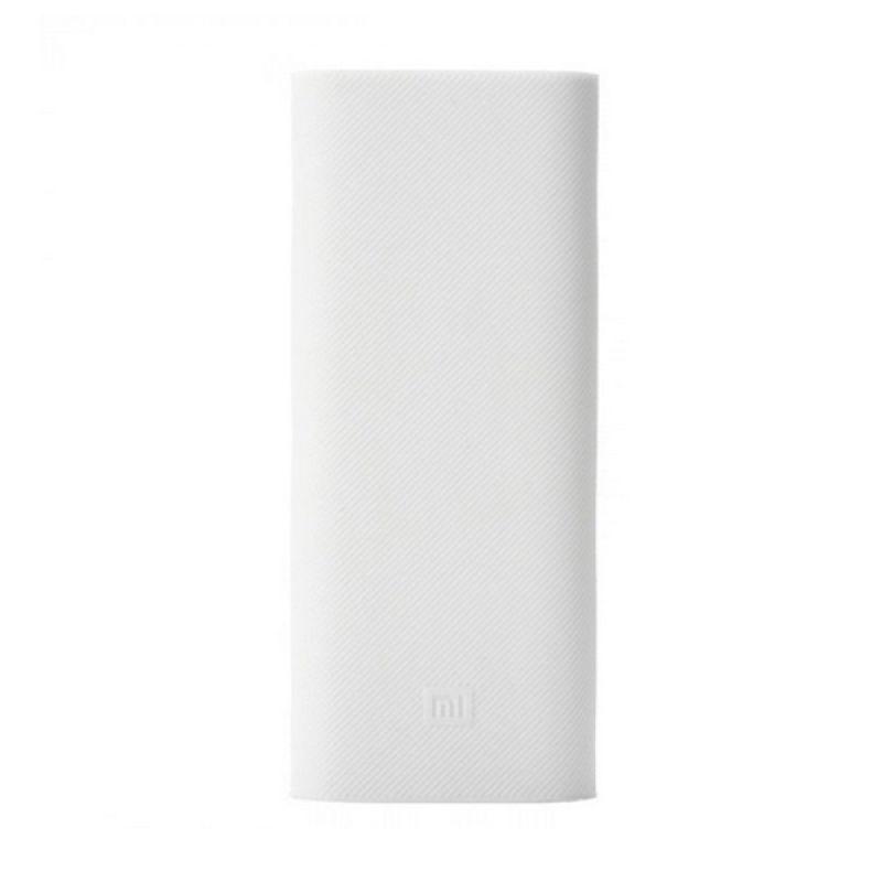 Xiaomi White Silicon Casing for Mi Powerbank [16000 mAh]