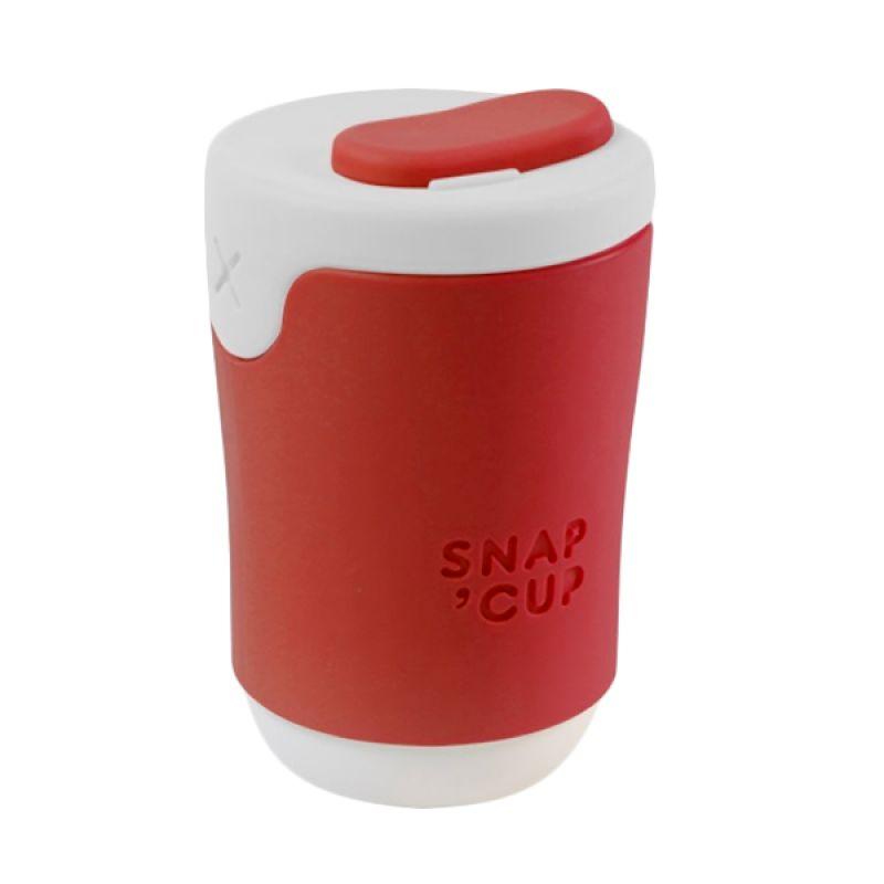 Gattola Snap Cup Red White Gelas