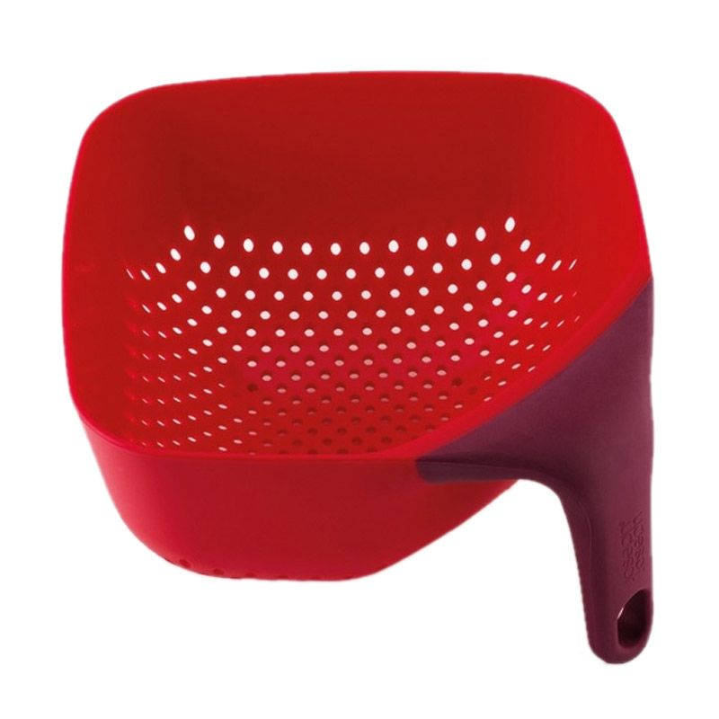 Joseph Joseph Square Colander Medium Red Saringan