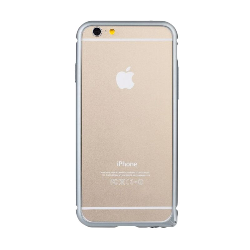 Baseus Arc Bumper Abu-Abu Casing For Iphone 6