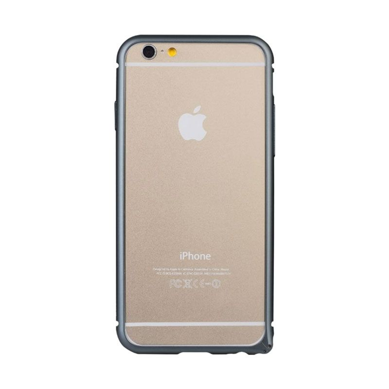 Baseus Arc Bumper Hitam Casing for iphone 6 Plus