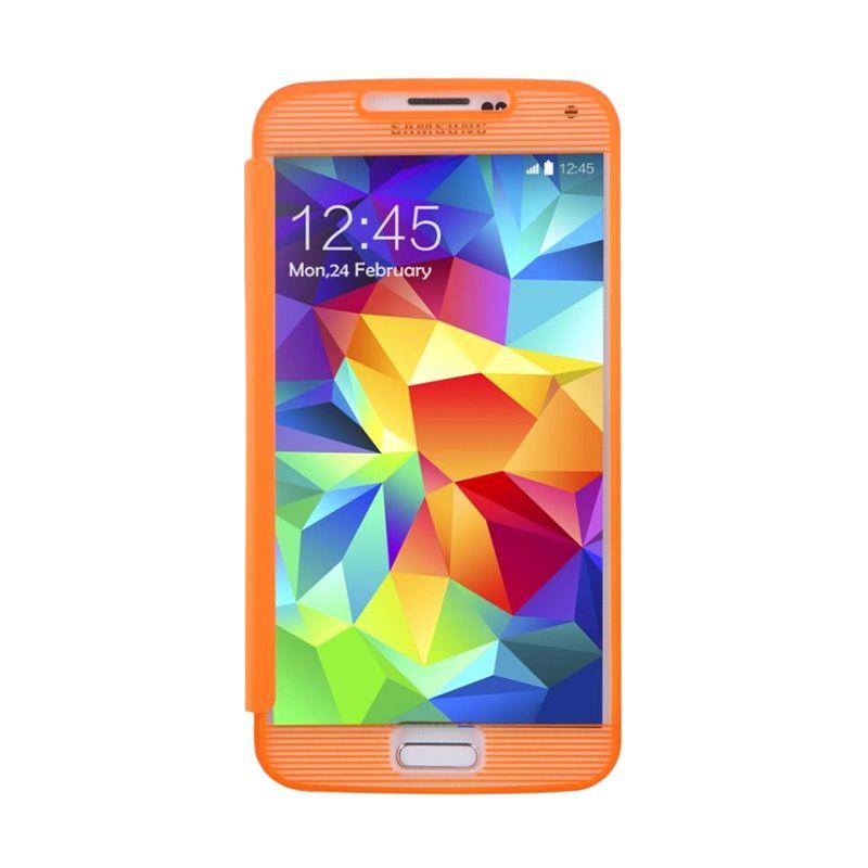 Baseus Bohem Orange Casing For Samsung Galaxy S5
