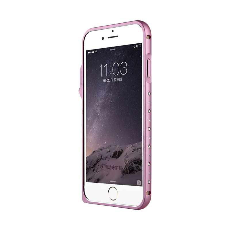 Baseus Eternal Series Pink Casing For Iphone 6