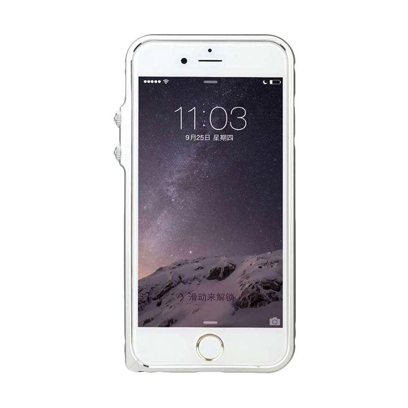 Baseus Eternal Series Silver Casing Iphone 6 Plus