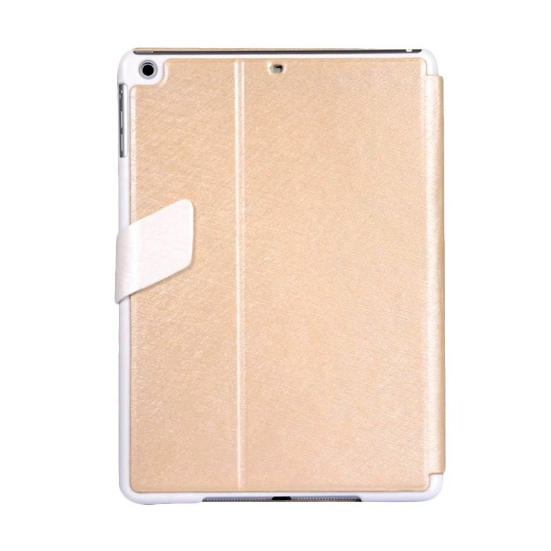 Baseus Faith Leather Champagne Gold Edition Casing For Ipad Air