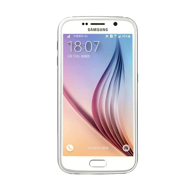 Baseus Fusion Classic Silver Casing For Samsung Galaxy S6