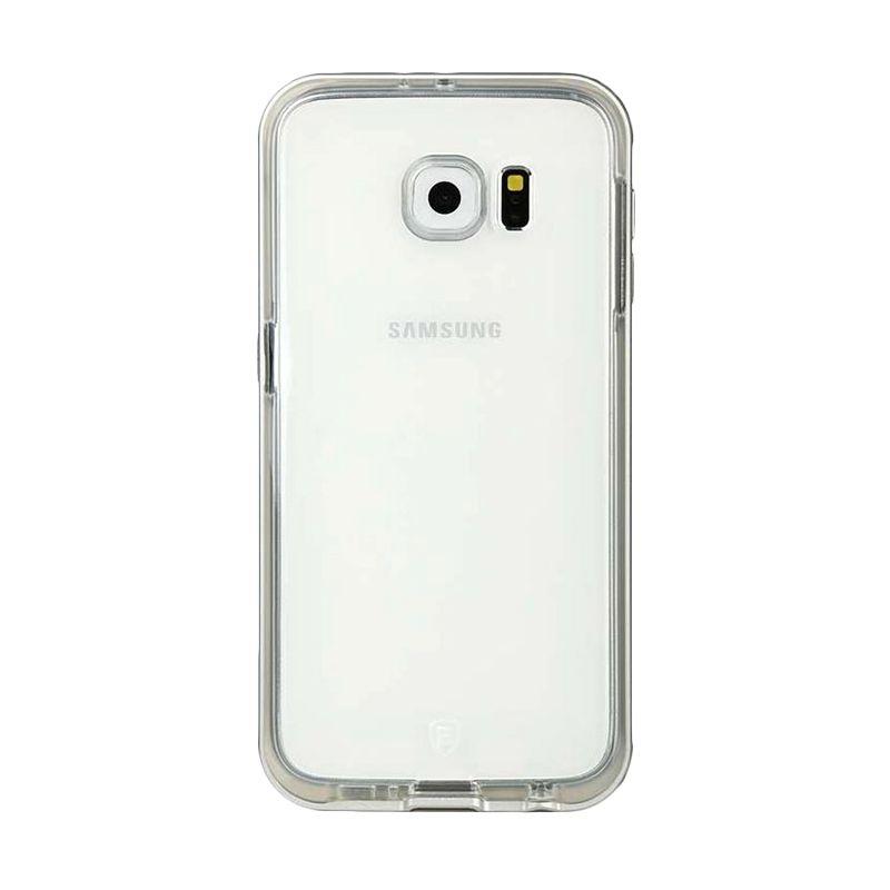 Baseus Fusion Tpu+Aluminum Silver Casing For Galaxy S6