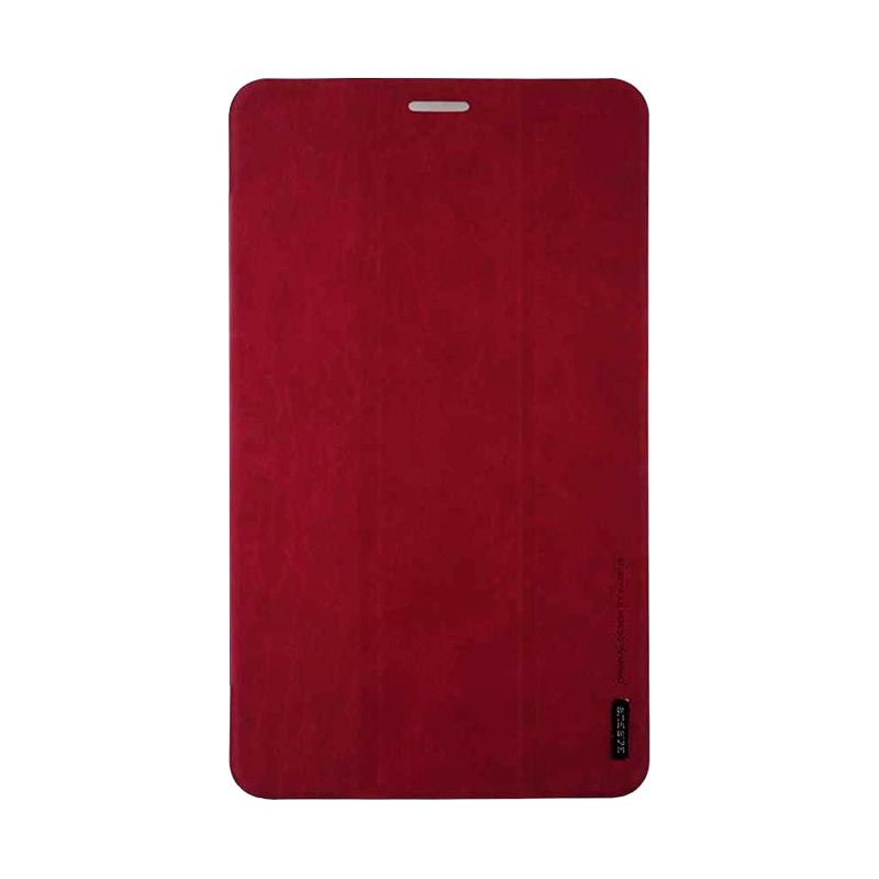 Baseus Grace Leather Simplism Series Red Casing For Samsung Galaxy Tab Pro 8.4