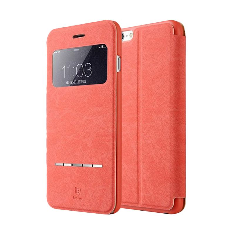 Baseus Terse Rose Leather Casing for iPhone 6 Plus
