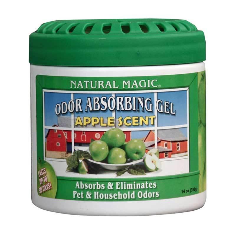 Natural Magic Odor Absorbing Gels Apple Penyerap  Bau  Ruangan