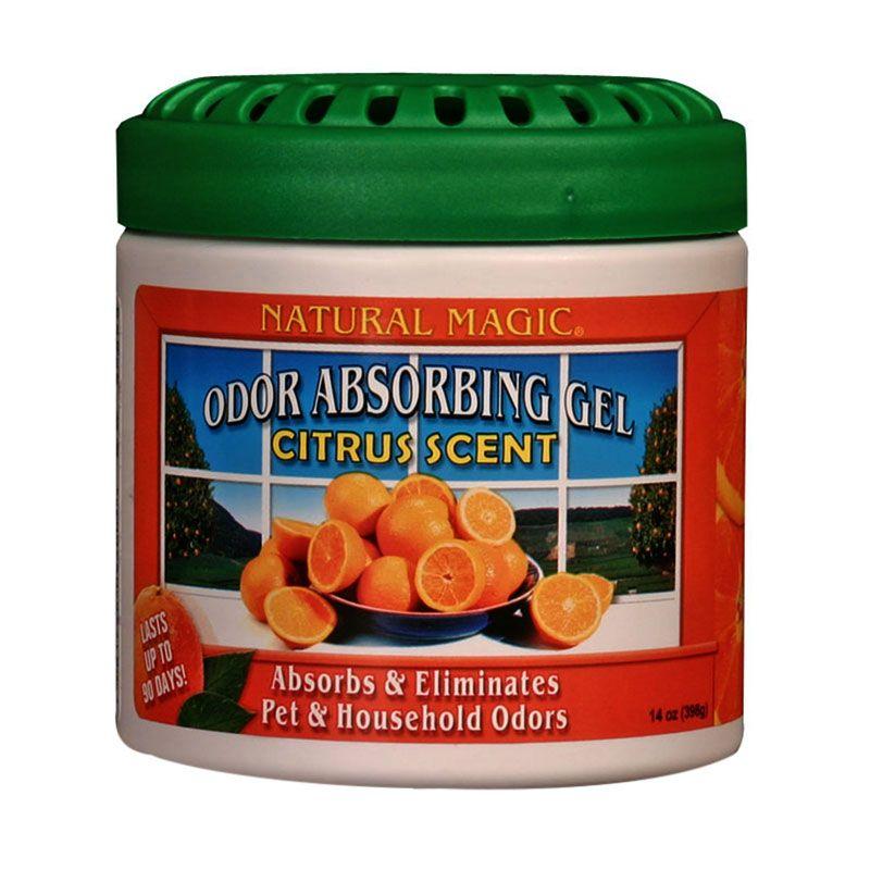 Natural Magic Odor Absorbing Gels Citrus Penyerap Bau Ruangan