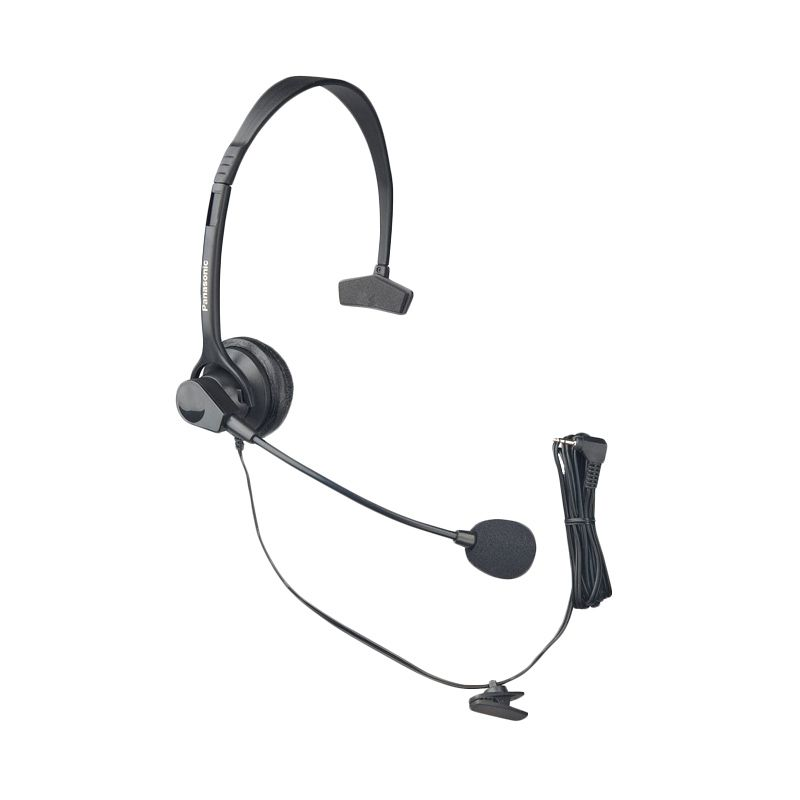 Panasonic KX-TCA60 Headset [Jack 2.5 mm] - For Cordless & Telephone